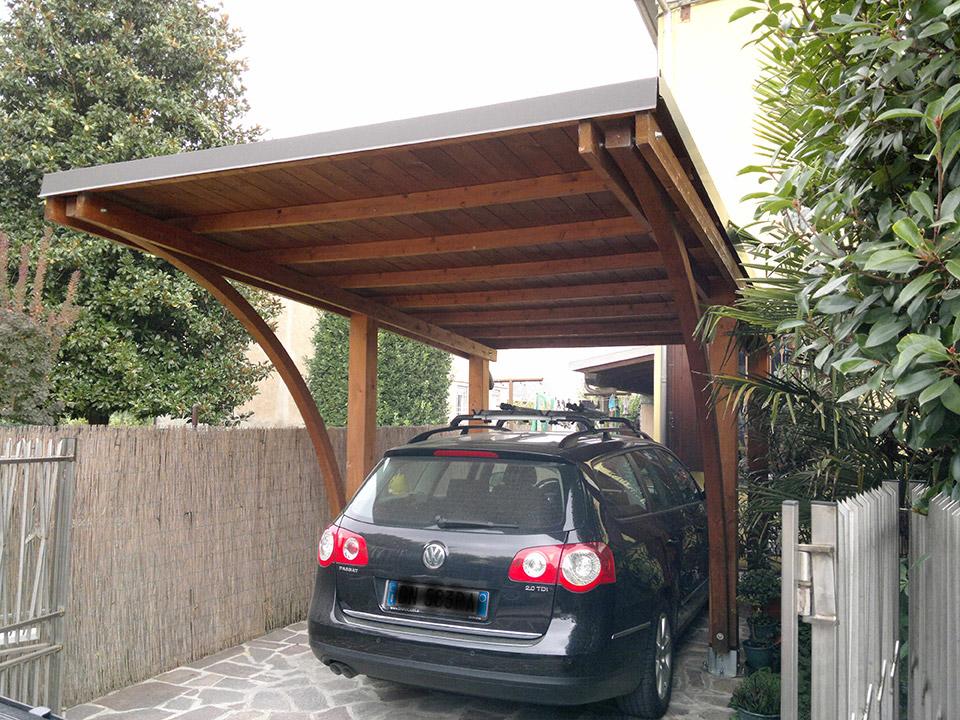 Tettoia garage best tettoia per auto a forl carpena copertura con telo soltis avorio with - Mobili per garage ...
