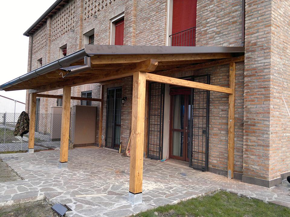 Pergolati in legno a Ferrara, Parma e Bologna. Tettoie in legno ...